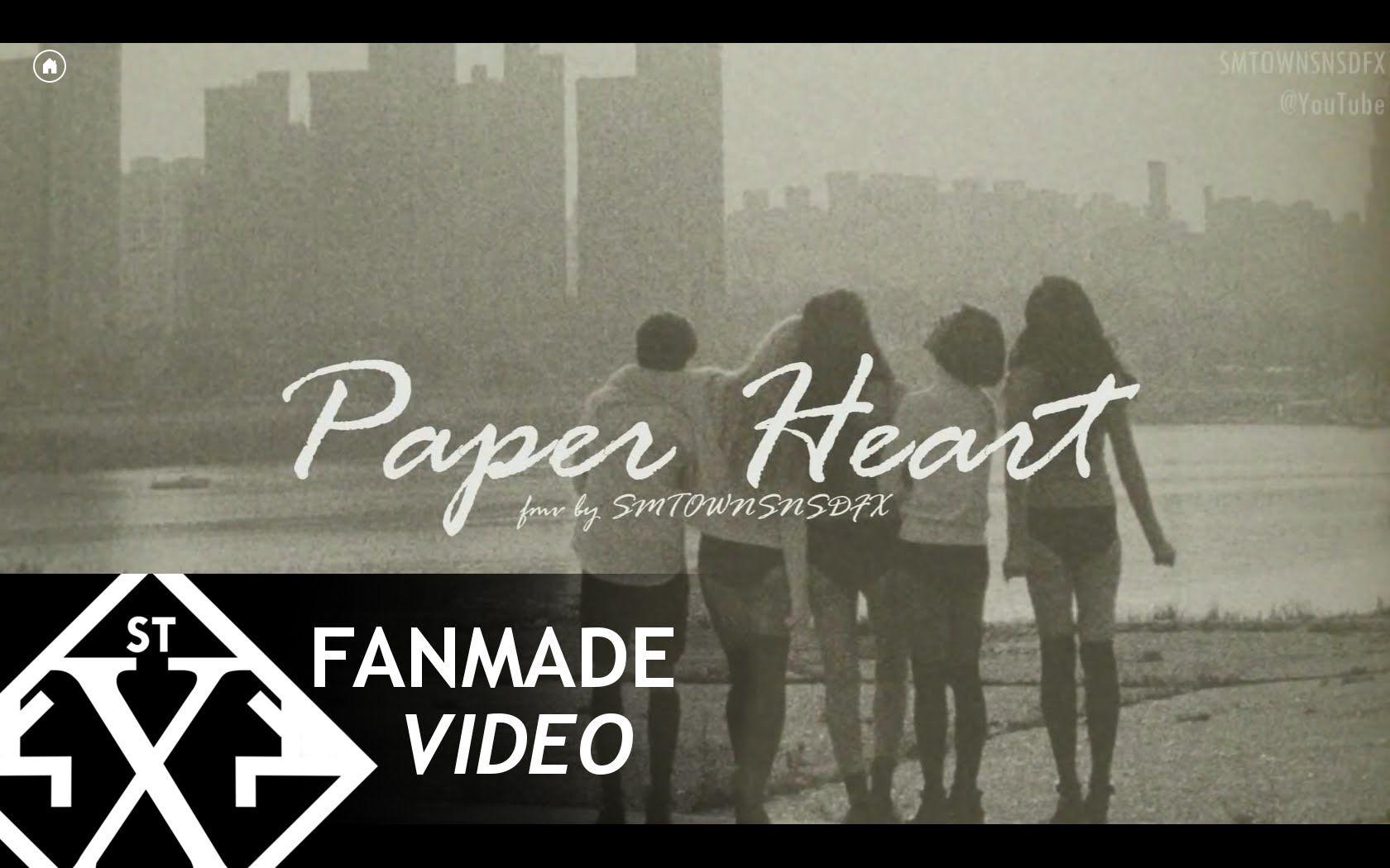 f(x) [에프엑스] - Paper Heart [종이 심장] [FMV/MV] [ENG/HANGUL]