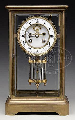 French Crystal Regulator Mantel Clock Repair Hickory Ory Retro Keepsakes