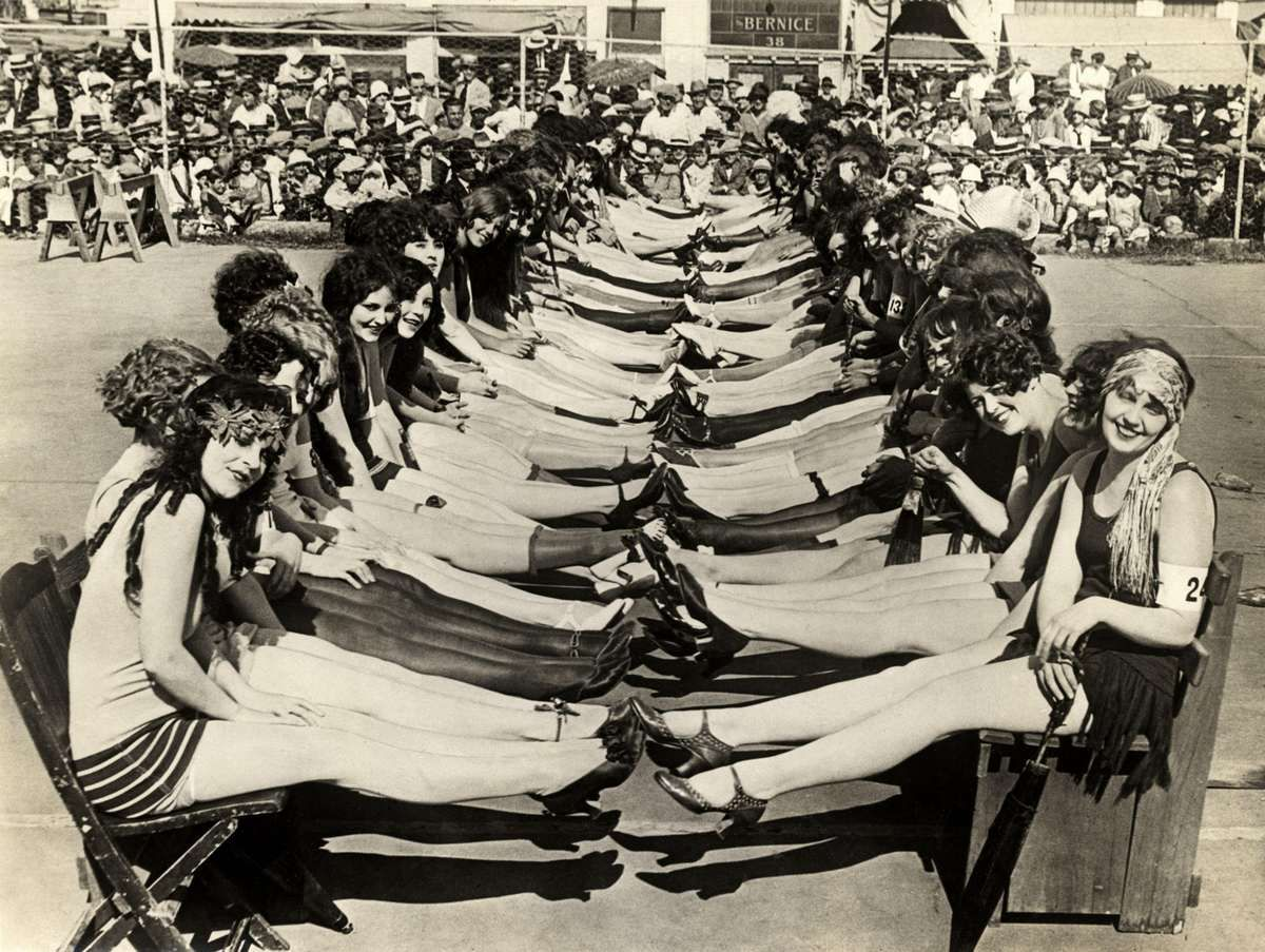 Beauty contest 1925