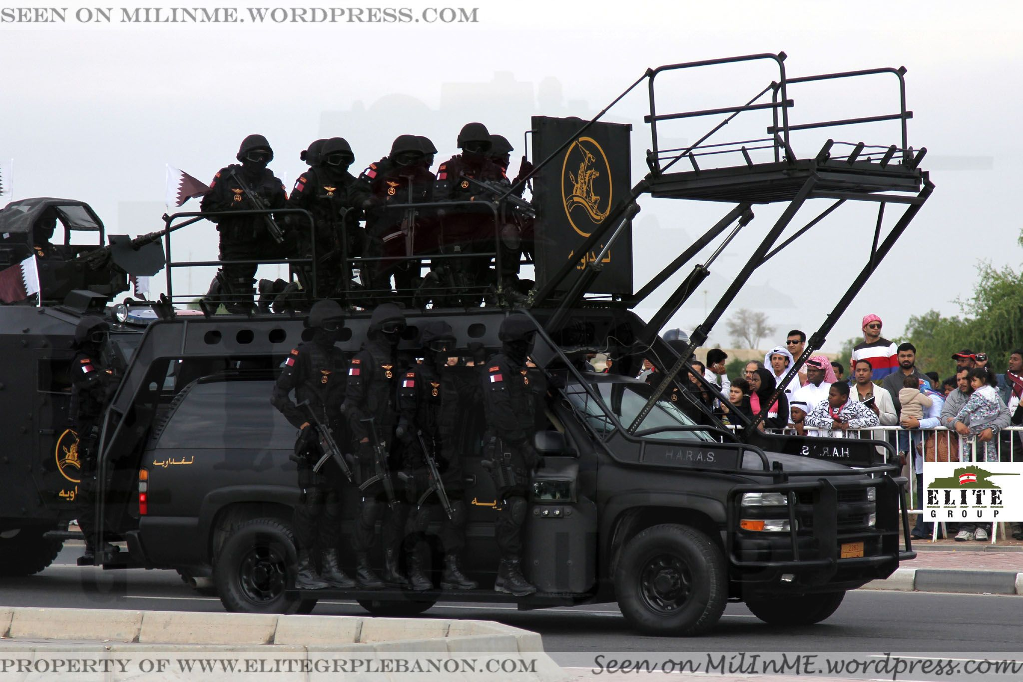 Qatar Internal Security Forces Chevrolet Suburban Swatec Haras