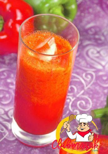 Resep Jus Paprika Tomat Resep Jus Sakti Club Masak Paprika Pint Glass Herbalism