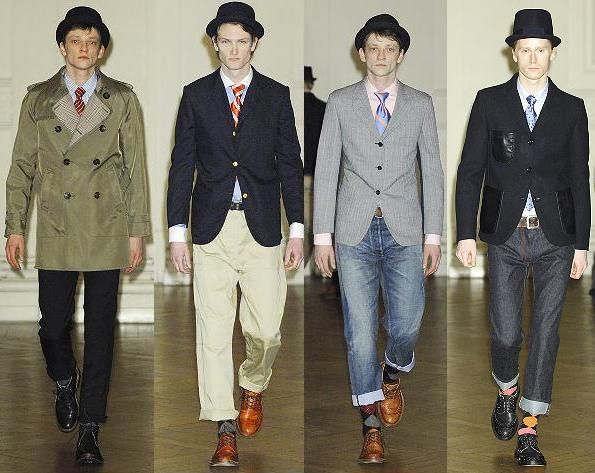 Menswear Done Right: Junya Watanabe @Brandon