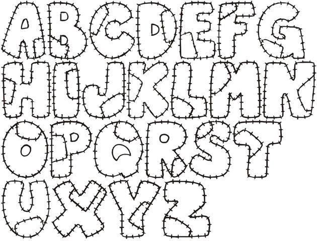 Moldes foamy letras - Imagui | L E T R A S | Pinterest | Patrones ...
