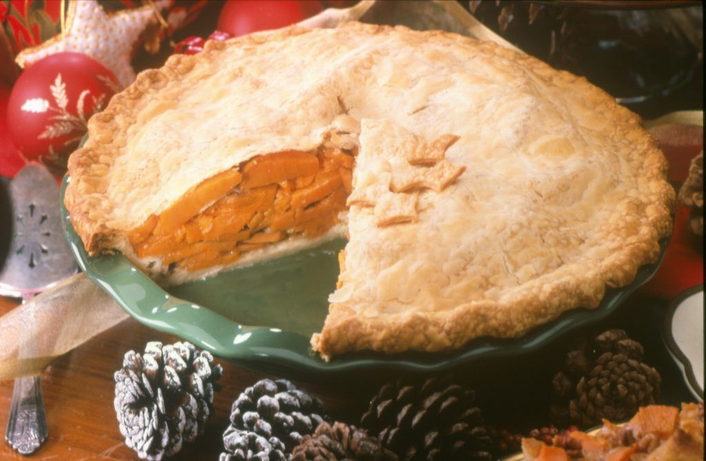 Old-Fashioned Sliced Sweetpotato Pie   North Carolina ...