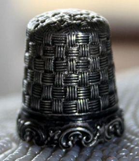 RP: Antique Sterling Silver Thimble *Circa 1880's - ebay.com