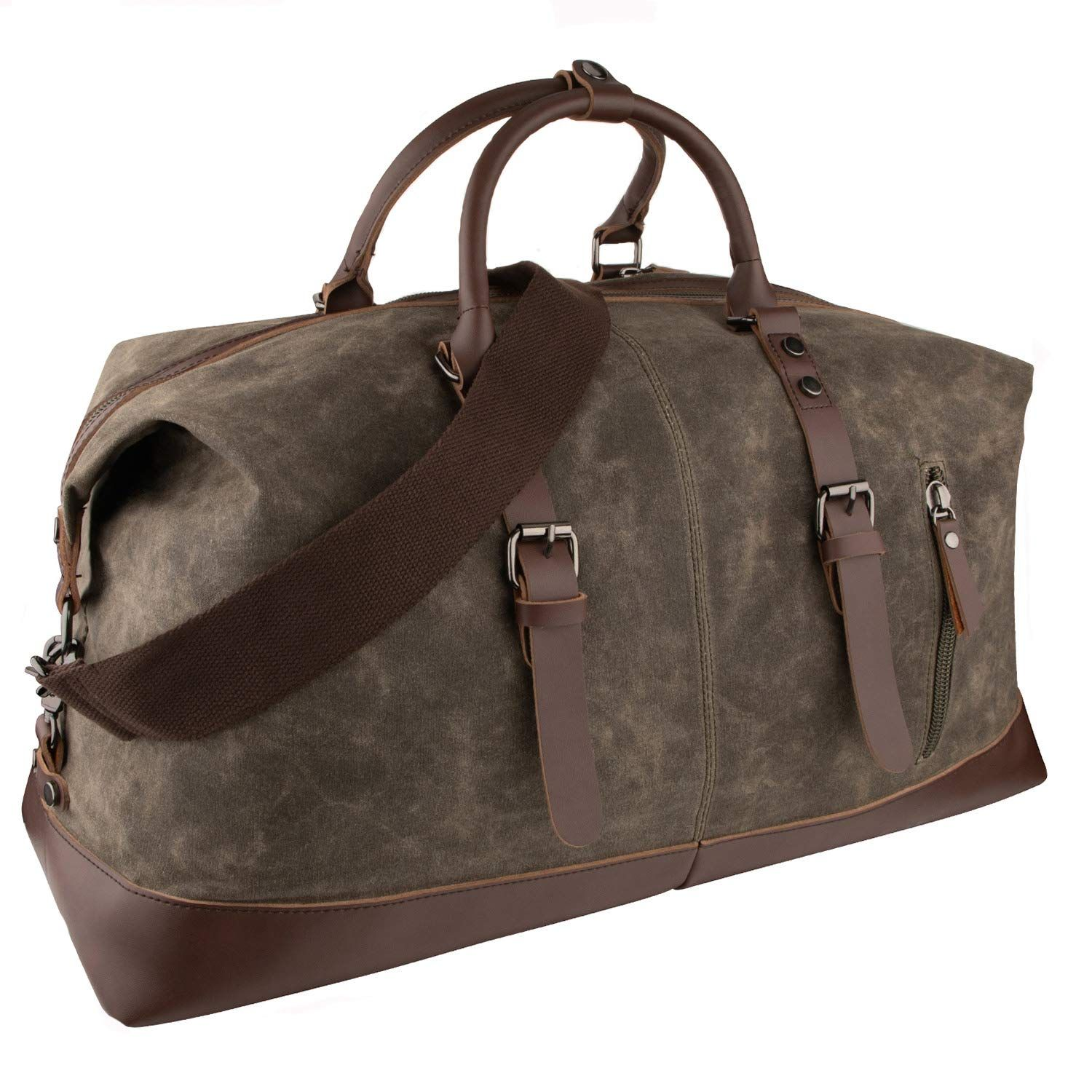 Large Weekend Travel Bag Portable Holdall Duffle For