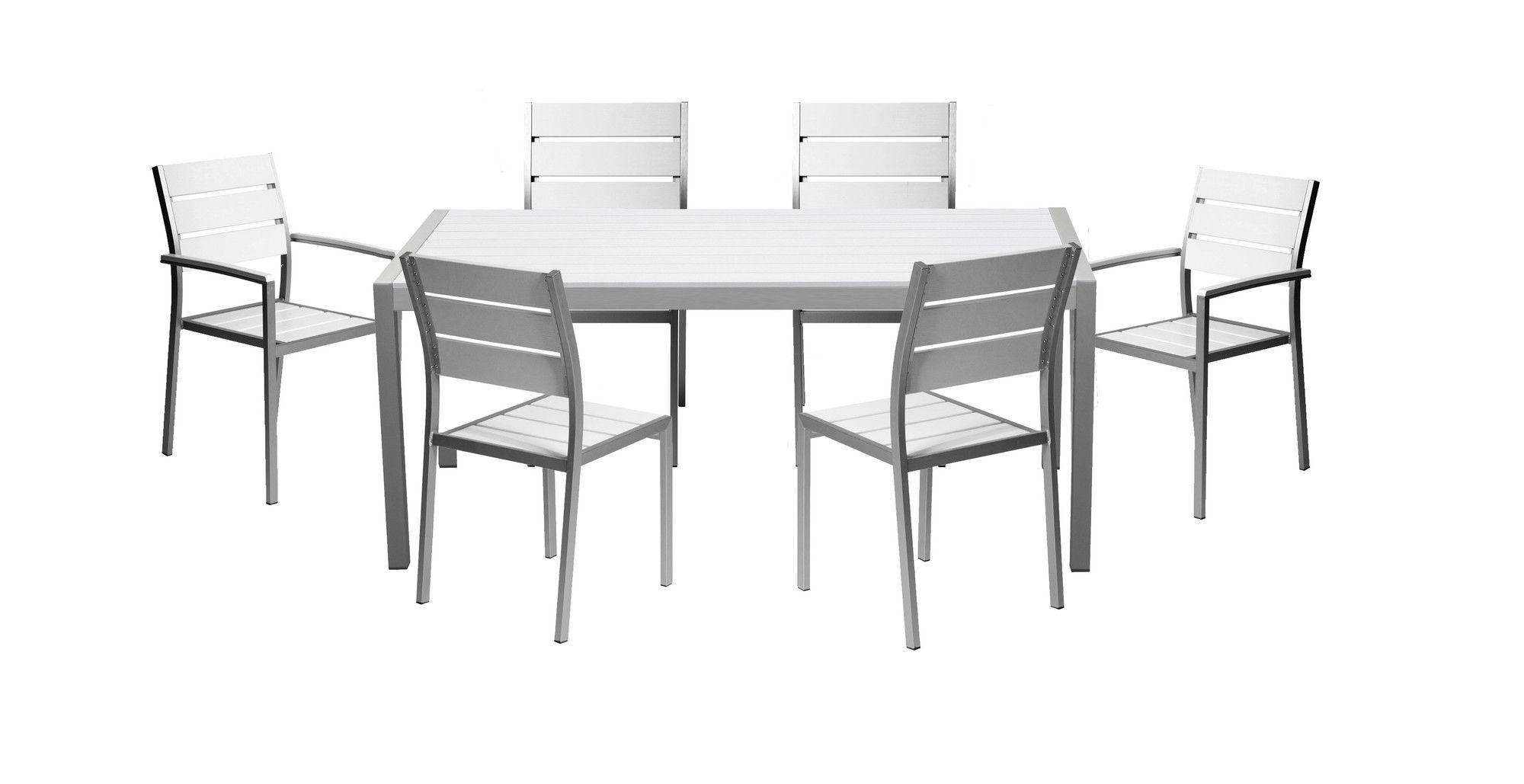 Milford 7 Piece Dining Set Outdoor Dining Set 5951b61bc