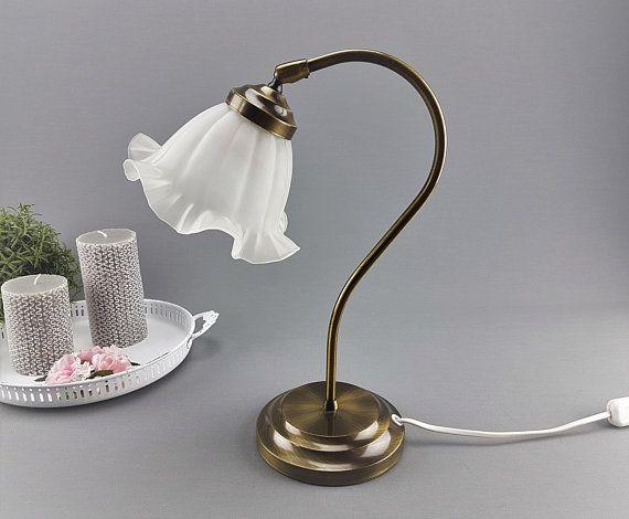 Vintage Lampe Tischlampe Schreibtischlampe Nachttischlampe Romantische Lampe Shabby Chic Cottage Home Dekor Ibkas Schreibtischlampe Vintage Lampen Tischlampen