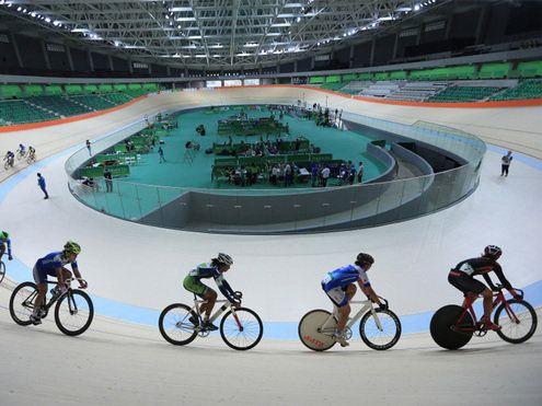 Velodromo da Olimpiada Rio de Janeiro    Velódromo é uma pista artificial que recebe provas e disputas do ciclismo