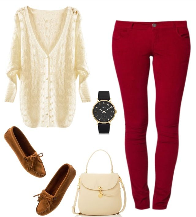 This would make a good Christmas dinner outfit - Need Some Red Skinnies! This Would Make A Good Christmas Dinner
