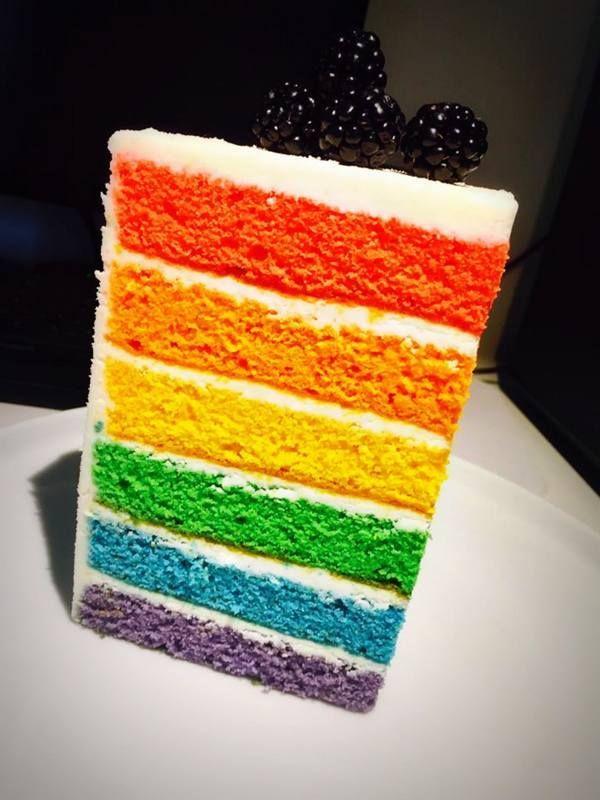 Rainbow Cake… Per un Carnevale colorato…