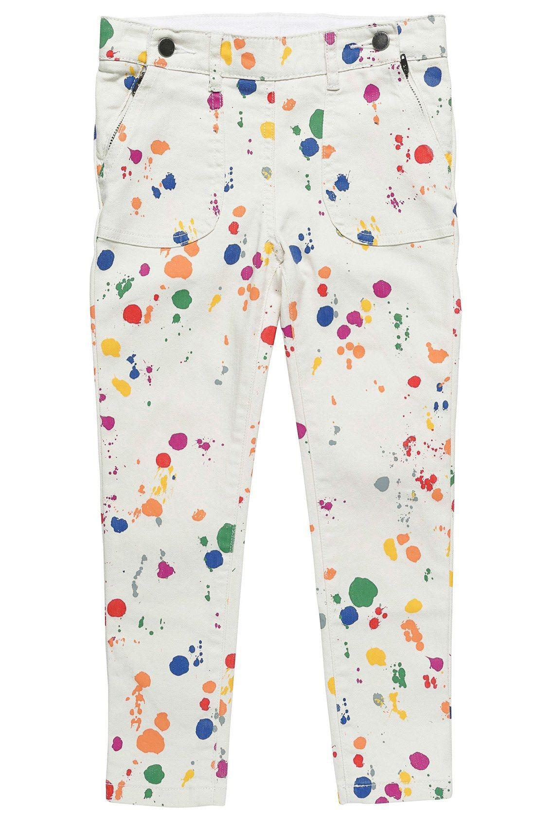 3f10f1daa1c72 Stella McCartney Kids  Splat Lou  Paint Splatter Print Skinny Jeans  (Toddler Girls