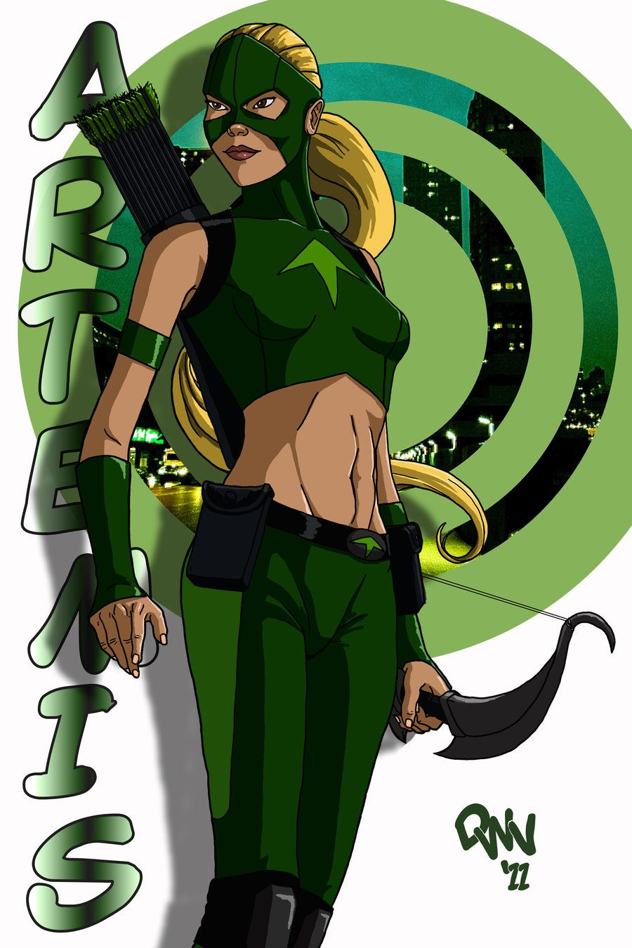 Artemis from Young Justice by CodenameZeus | Young Justice ...