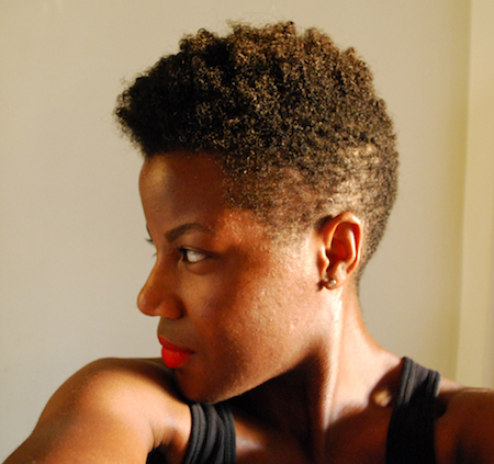 Natural Hairstyles For Short Hair Christina Style Icon Black