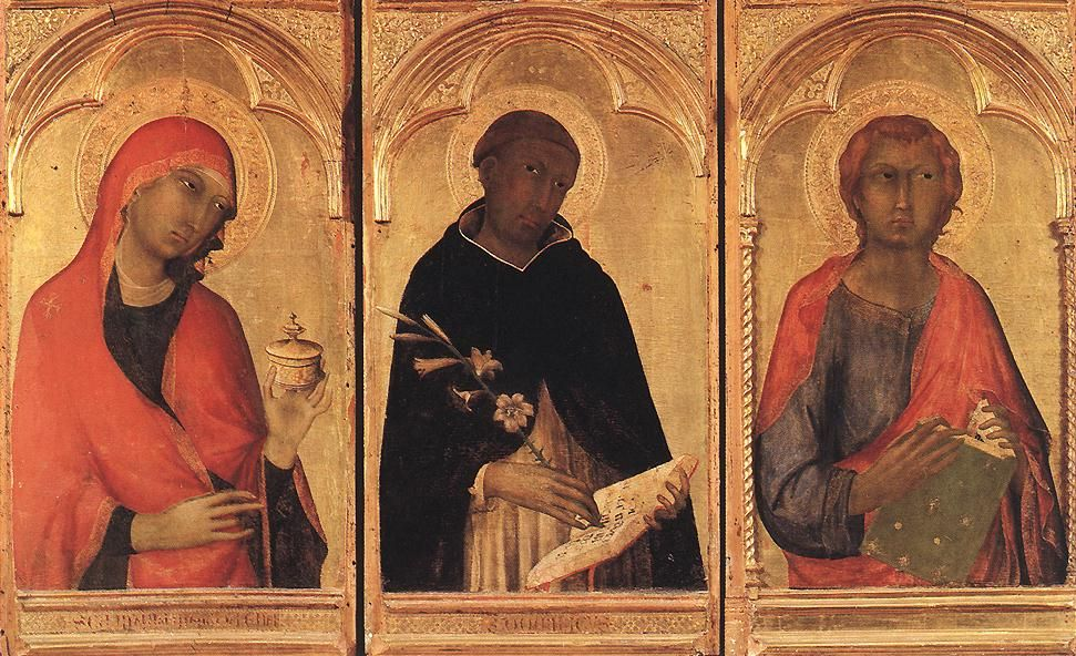 Polyptych of Santa Caterina (detail) 1319 Tempera on wood ...