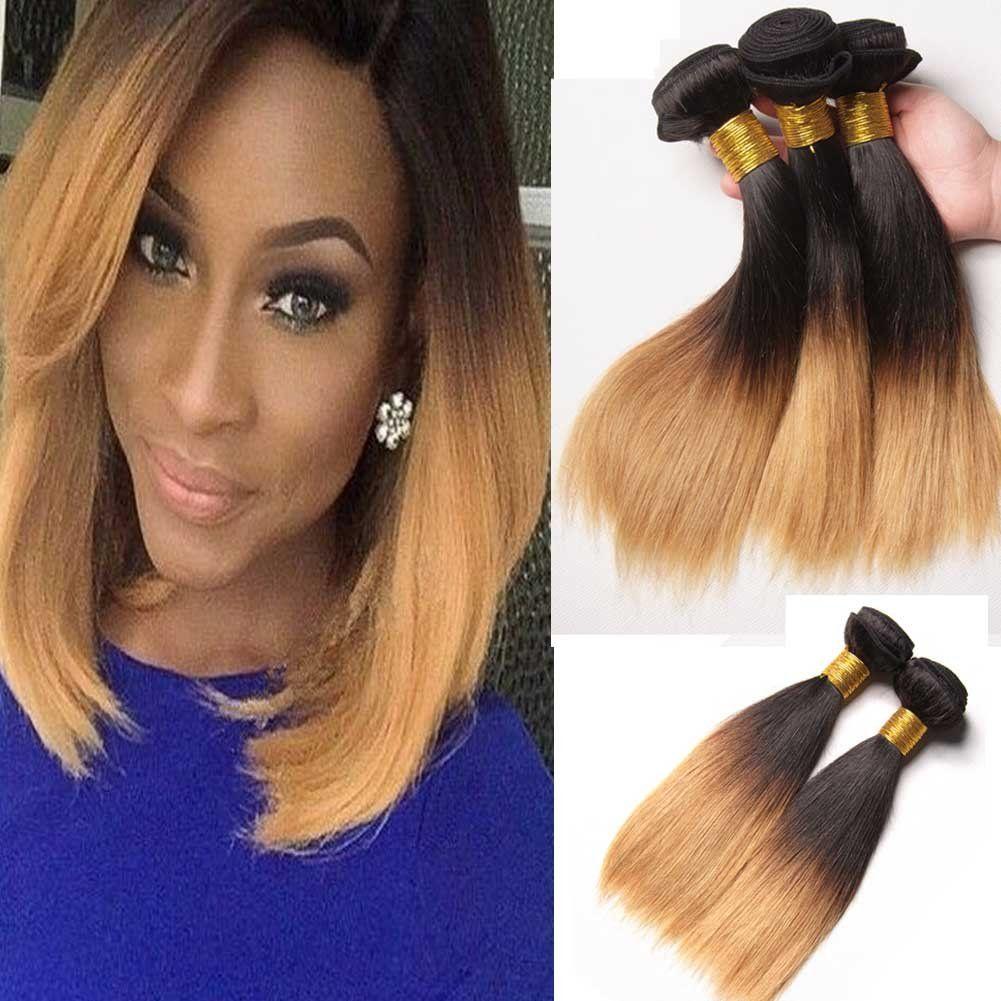 Fashion Lady Hair Brazilian 300g Silky Hair 1b27 Straight Human