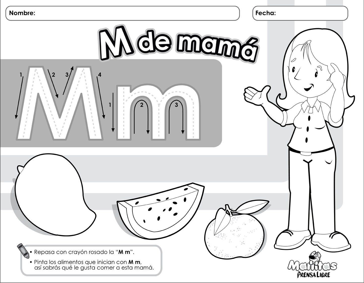 Dia De La Madres Actividades Diplomas Vales Tarjetas