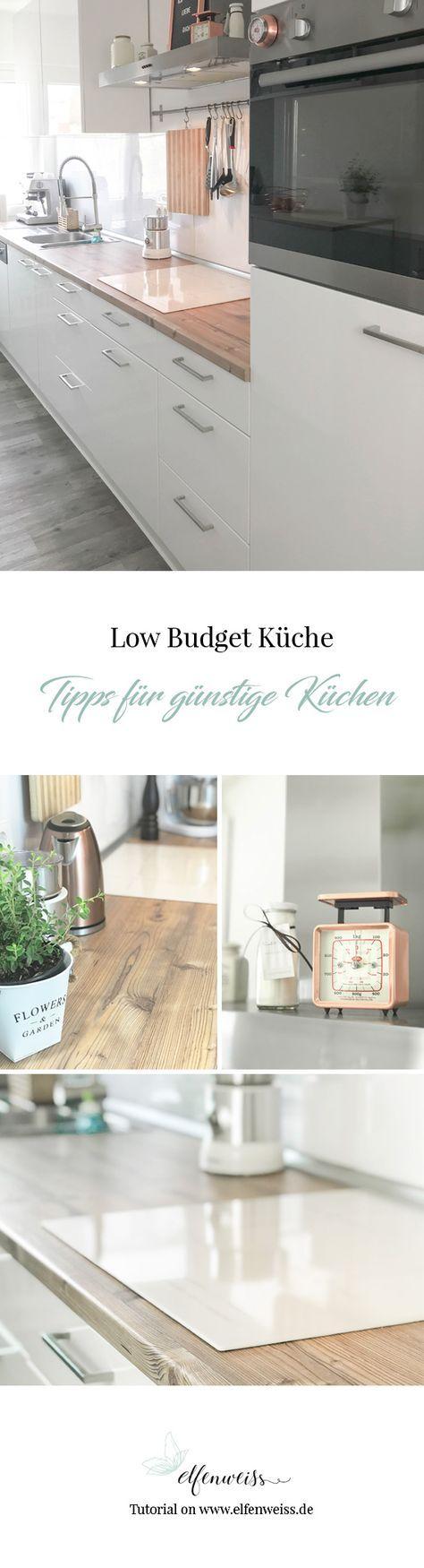 Charmant Küche Renovieren Kleines Budget Bilder - Ideen Für Die ...