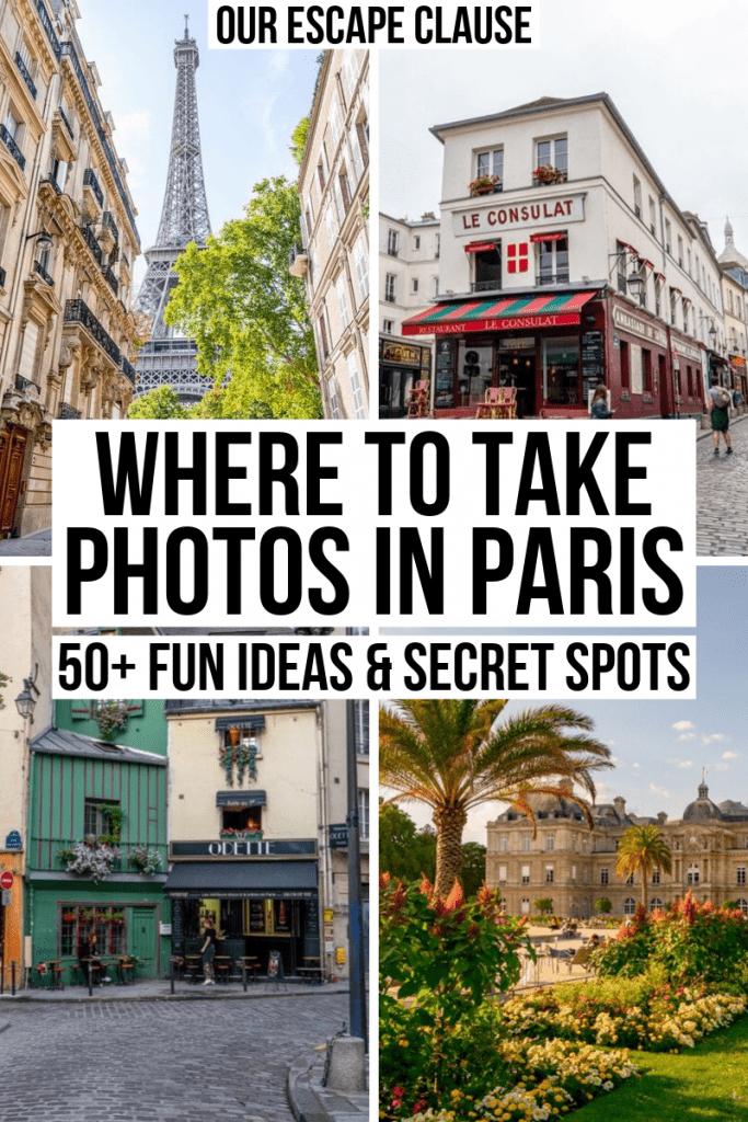 55 Most Instagrammable Places in Paris: Epic Paris