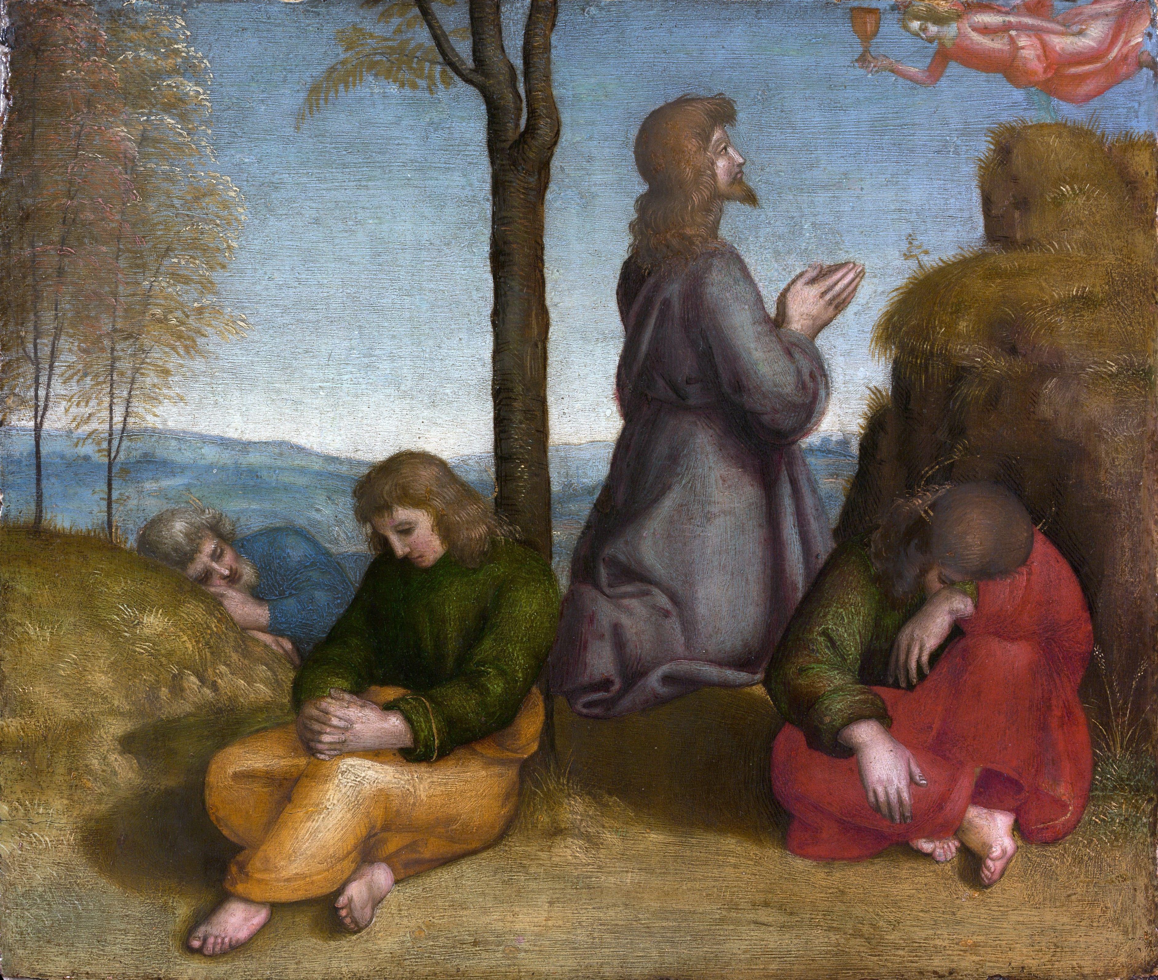 Моление о чаше (ок.1505). Raffaello Santi (14831520