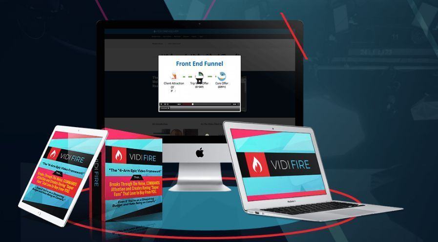 """VidiFire The Premium Video Creation Software by Peter Beattie Review – Proven """"Pitch Video Weapon"""" With 4 Part Framework That Able To Blow Up Your Sales & Commissions And Get Paid Top Dollar Making Simple Videos In Any Niche in 60 Minutes Flat"""