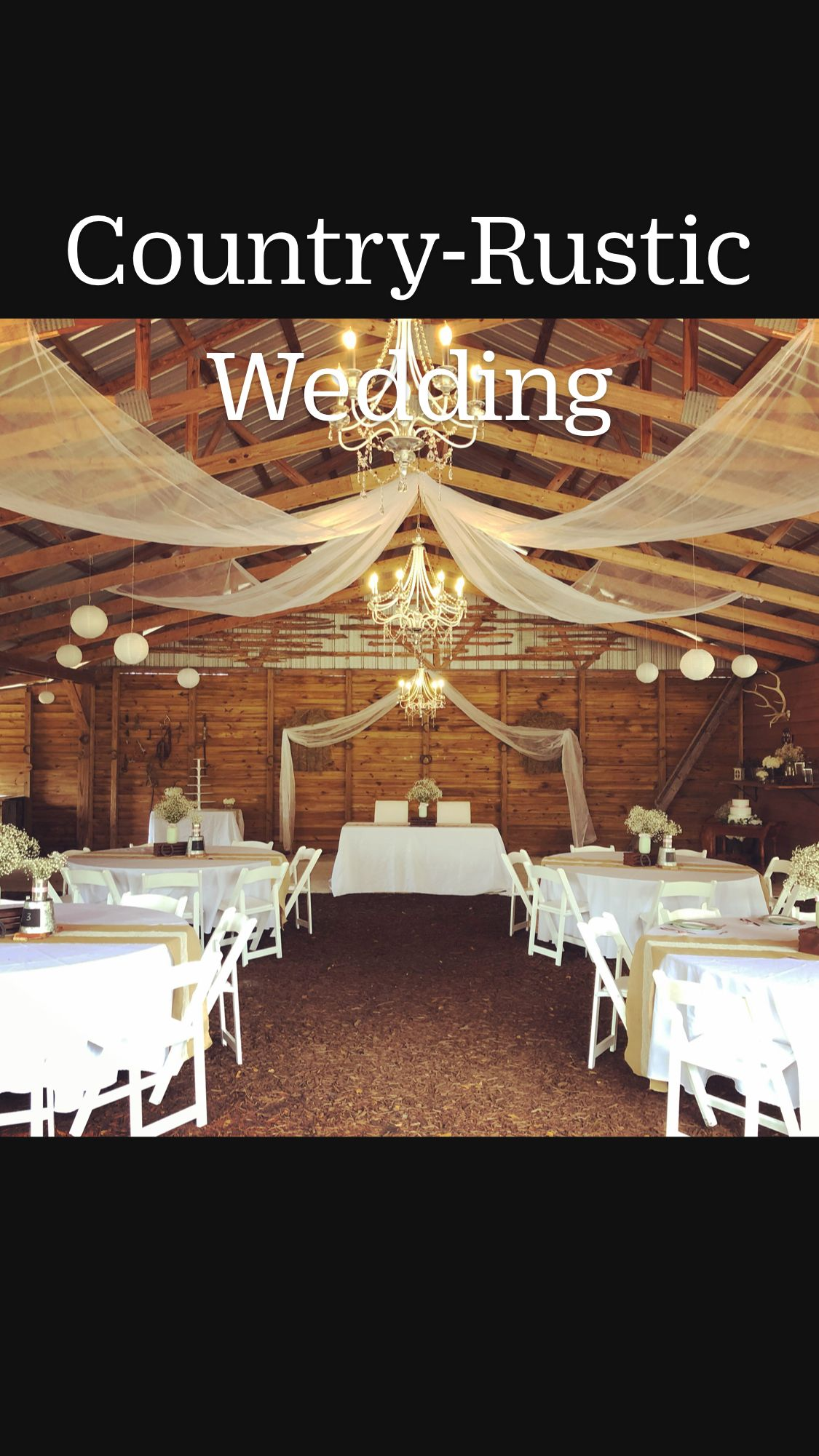 Country-Rustic Wedding