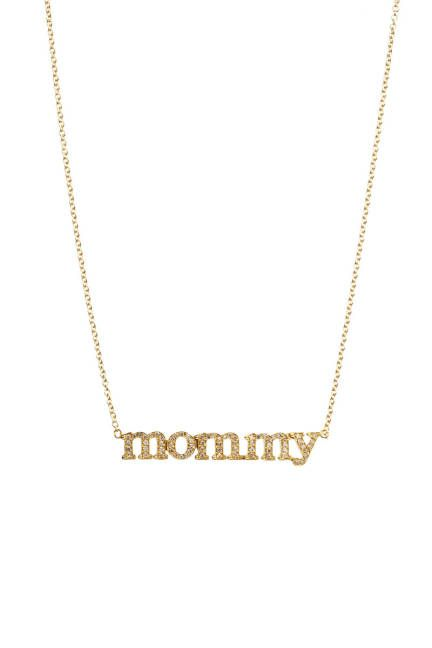 this jennifer meyer necklace is perfect for a mother's day #gift