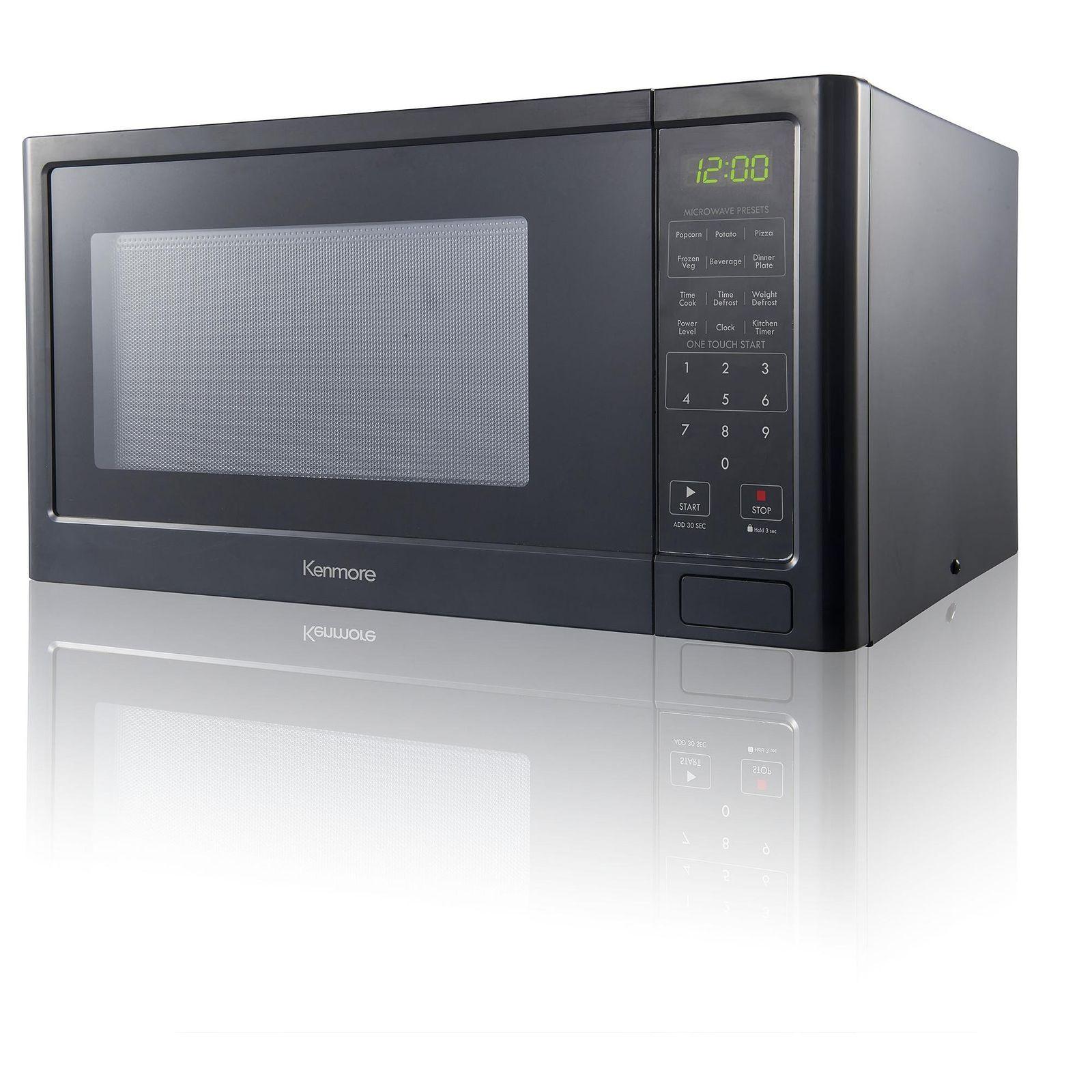 Kenmore Countertop Microwave Oven Black 73779 9 Cu Ft Free
