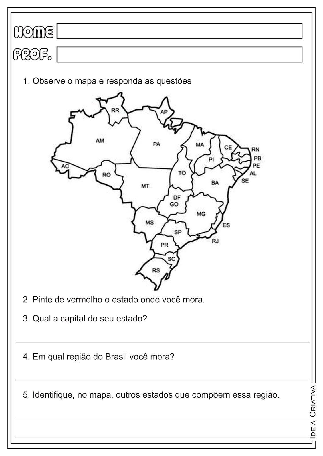 Imagem Relacionada Avaliacao De Geografia Geografia