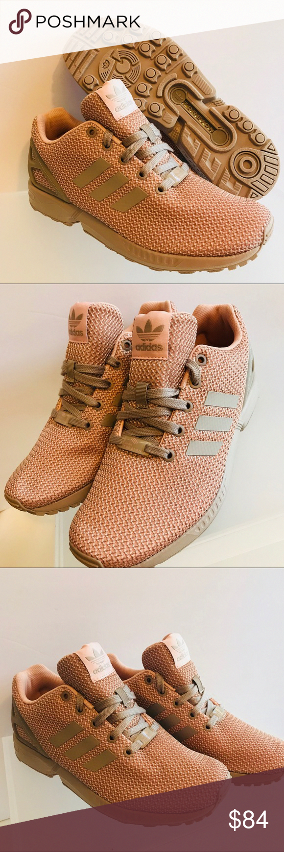 99f11b8d76463 Spotted while shopping on Poshmark  NEW ADIDAS ZX FLUX TORSION WOMEN VAPOUR  PINK GREY!  poshmark  fashion  shopping  style  adidas  Shoes   ...
