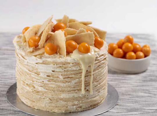 Nestle Condensed Milk And Milkybar Napoleon Cake In 2020 Napoleon Cake Food Pastry Cake Design