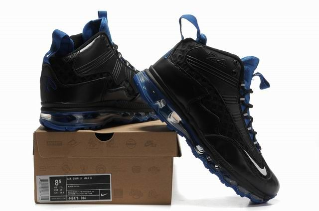 where to buy griffeys air max jr fall black blue | Ken
