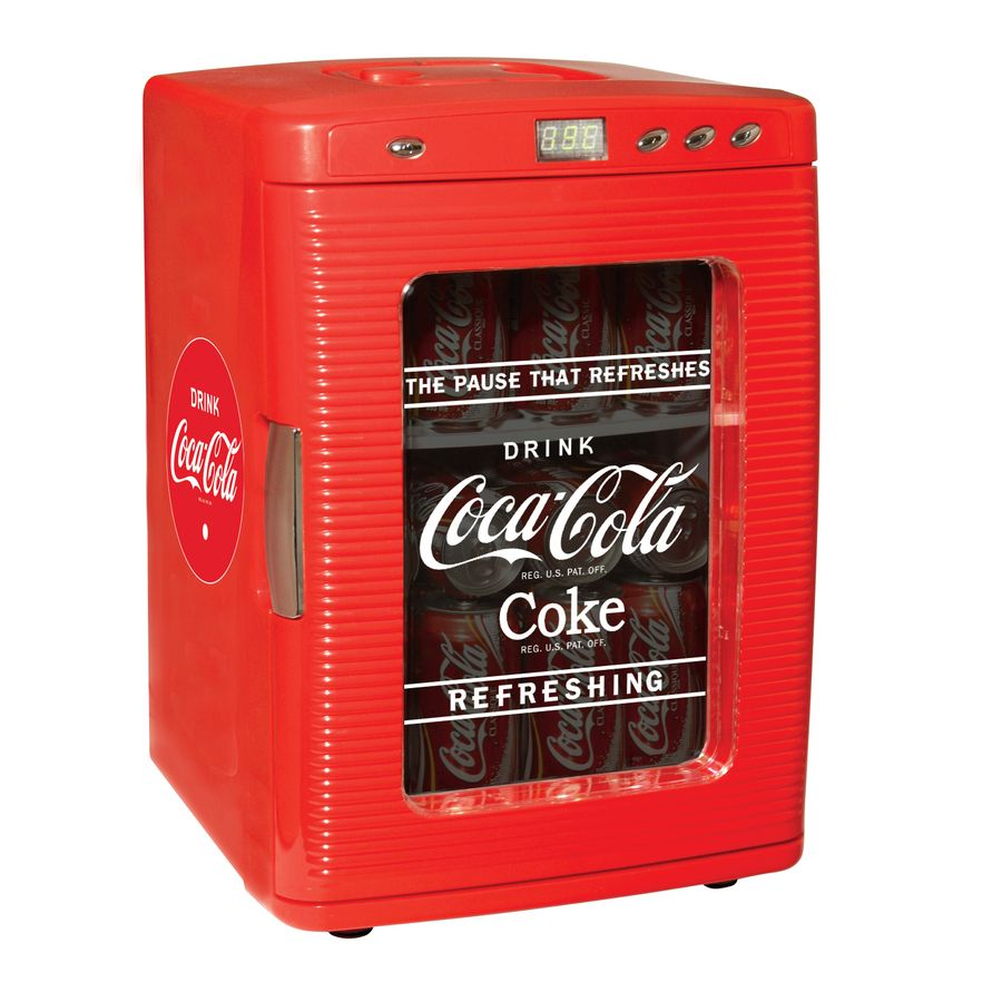 Game coolers portable - Koolaton Coca Cola Fridge Red Thermoelectric Cooling System Is Quiet Lightweight Compact And Portable This Portable Fridge Can Holds Up To Twenty Eight