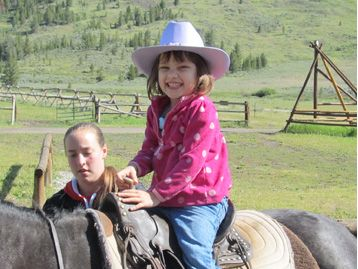 Harper, 4, endures hours of dialysis.  Creative Memories sponsered her wish to go to the mountains and ride horses.  Thanks to everyone who creates with Creative Memories products.  You helped us sponser her wish.  Thanks!