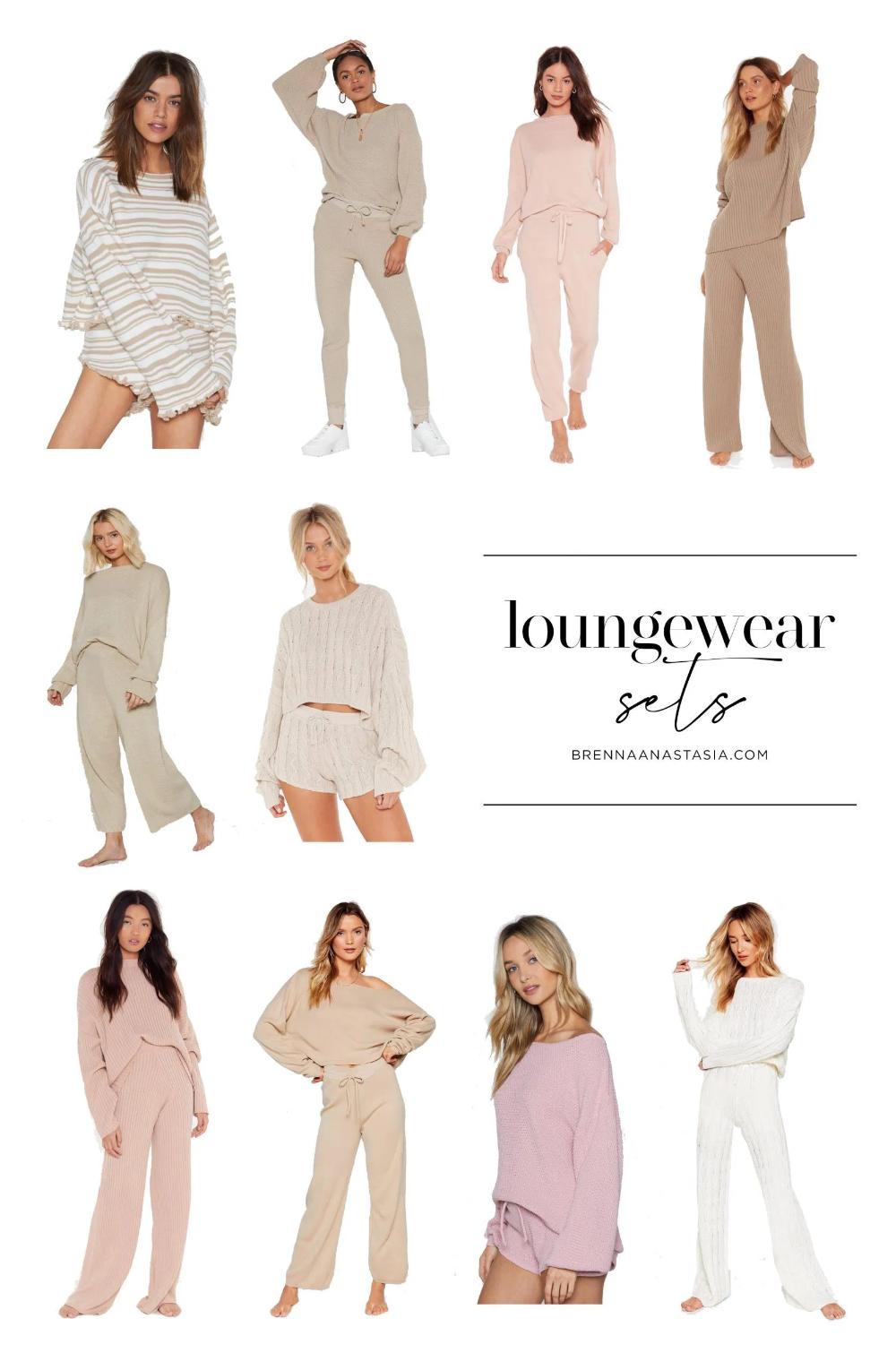 Loungewear Sets That Are Social Distancing Approved Brenna Anastasia Lounge Wear Loungewear Sets Loungewear Set [ 1529 x 1000 Pixel ]