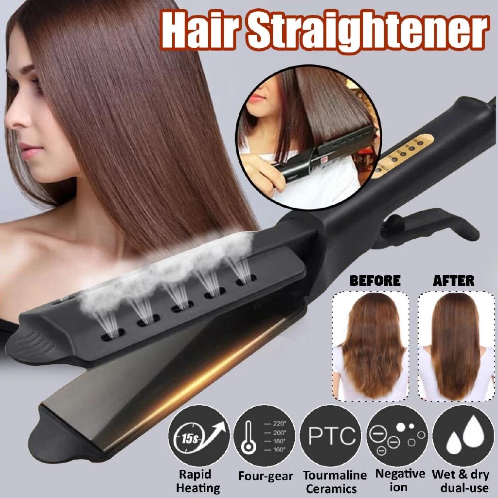 2020 Big Promotion 70 Off Ceramic Tourmaline Ionic Flat Iron Hair Straightener In 2020 Flat Iron Hair Styles Hair Straightening Iron Hair Straighteners Flat Irons