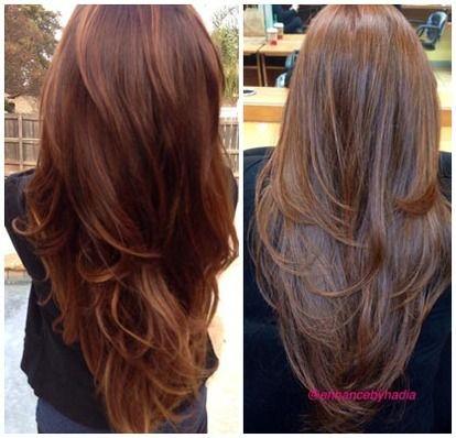 Как подстричь длинные волосы сзади