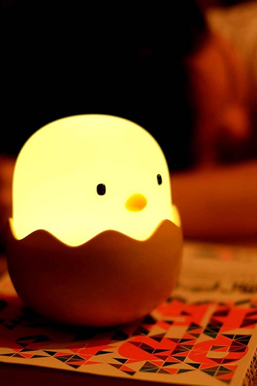 Smart Chicken Night Light In 2020 Night Light Kids Cute Night