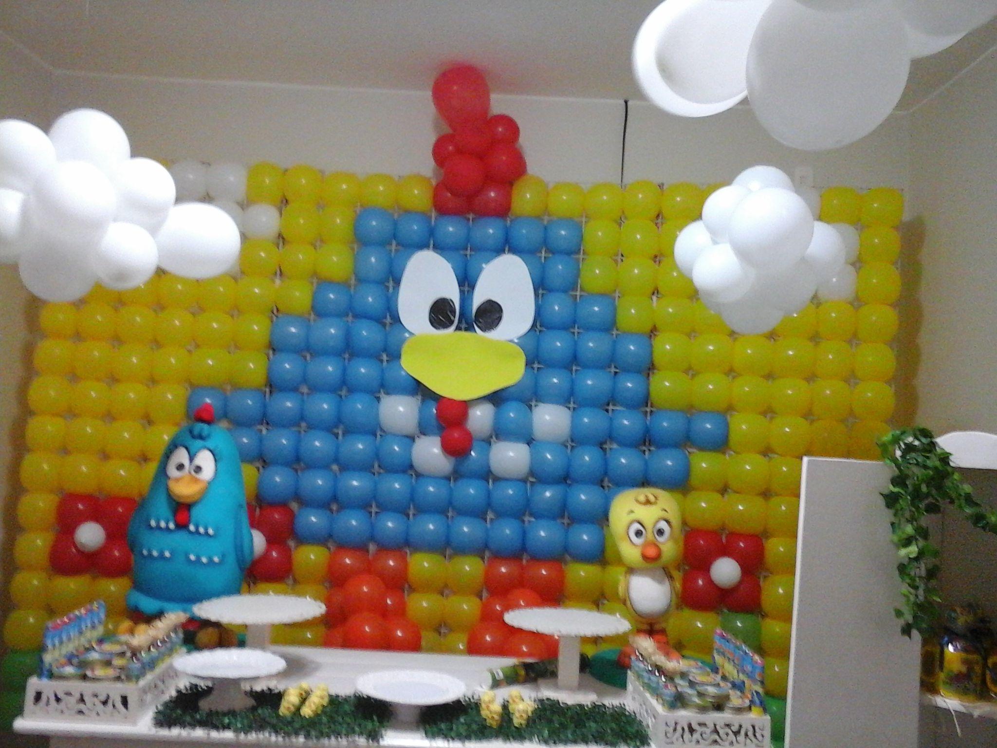 Decoração Festa Galinha Pintadinha