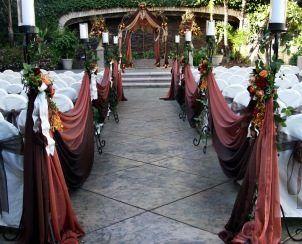 Doubletree Hotel Claremont Ca Courtyard Wedding