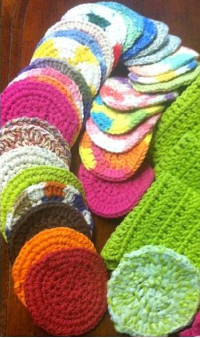 face scrubbies | Creative Crochet | Pinterest | Waschlappen ...