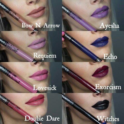 Kat von D new liquid lipstick shades | ✨Makeup✨ | Pinterest ...