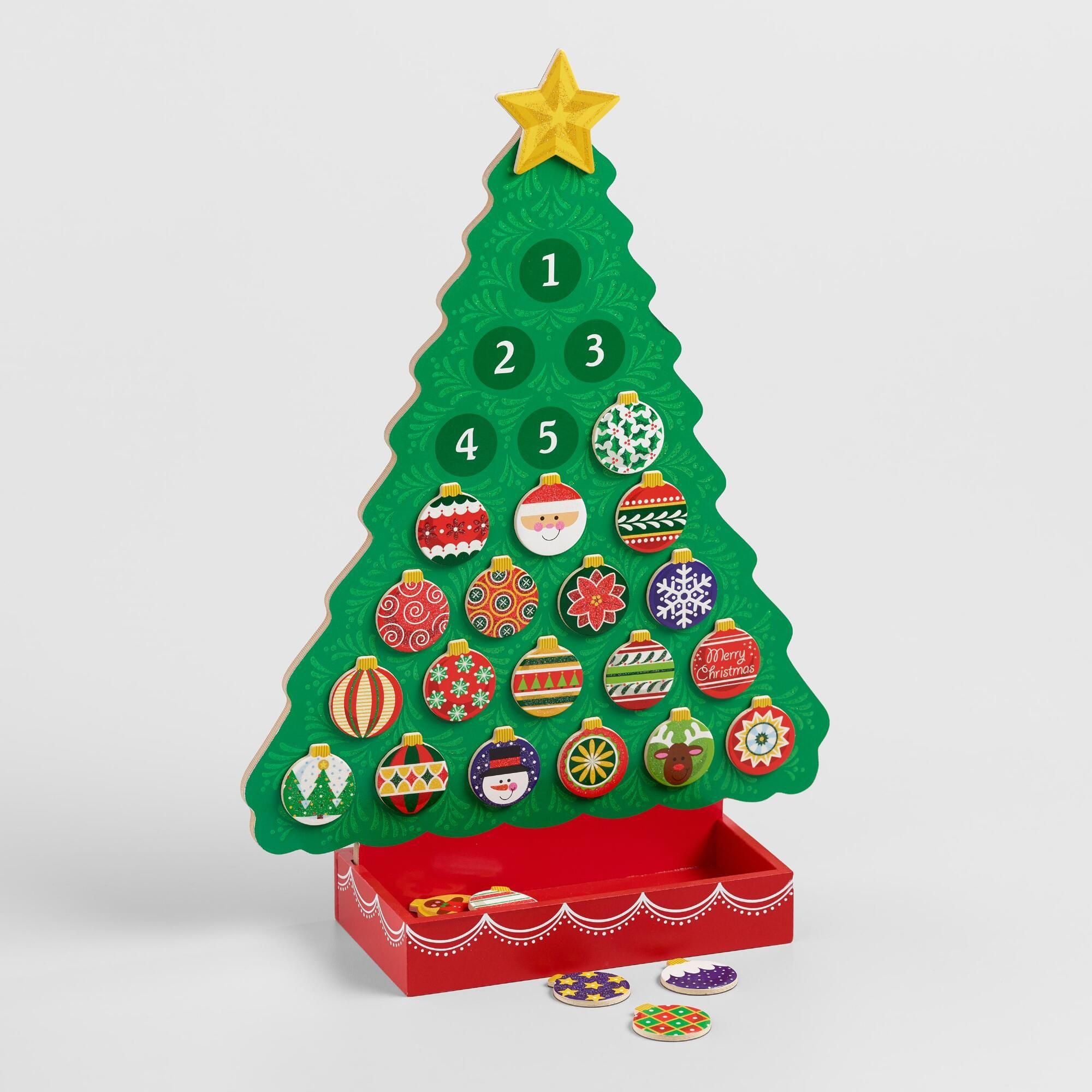 Melissa And Doug Magnetic Christmas Tree Advent Calendar