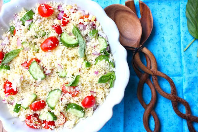 ValSoCal: Greek Couscous... so into couscous these days