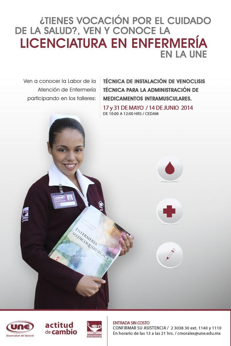 ¿Quieres conocer más sobre la Licenciatura en Enfermería? Participa en nuestros talleres el próximo 17, 31 de mayo y 14 de junio ¡Encuentra tu vocación! #UneTampico +info.: Tel. (833) 230 3830 Une Tampico, México
