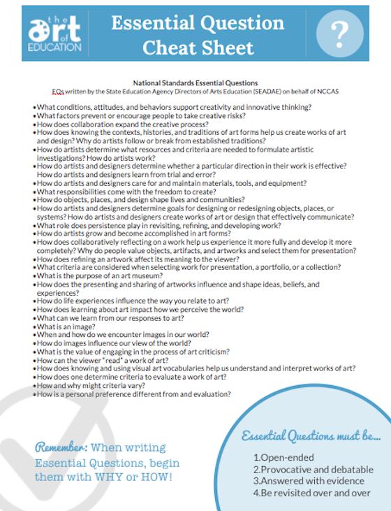 How to Write a Great Essential Question   Pädagogik, Vfl und ...