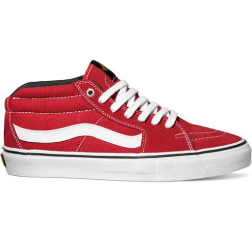 21f0ebf8f0 Vans X Black Label Sk8-Mid Pro Shoes (Red)  58.95