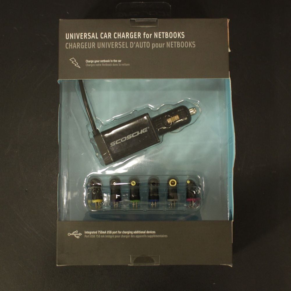 Universal Travel Car Charger Netbooks Dell Hp Lenova Asus Acer Toshiba New Scosche Charger Car Car Travel Charger