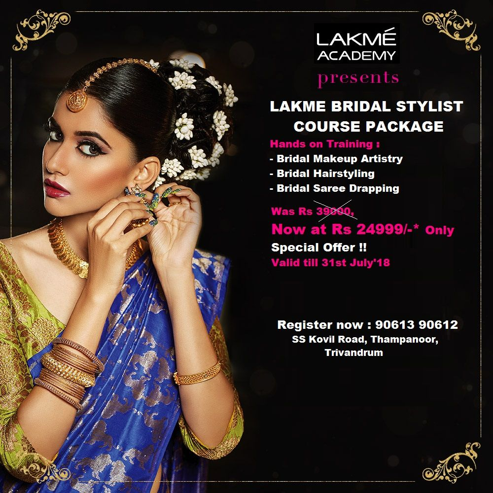 Bridal Stylist Course - Total Package from LAKME Academy