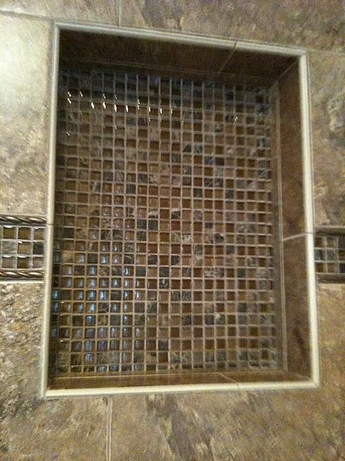 Decorative Pencil Tile Extraordinary Edge Shower Pencil Trim  Google Search  Trevor's Bathroom Inspiration Design